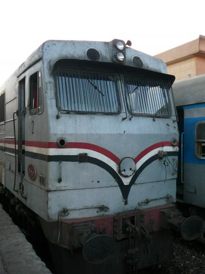 ふたりのエジプト8日間:寝台列車ナイルエキスプレス