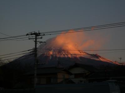 ちょっとした変化☆富士山撮影