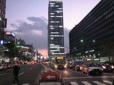 東京八重洲北口付近の風景