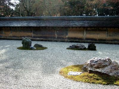 京都女4人旅(竜安寺・仁和寺)
