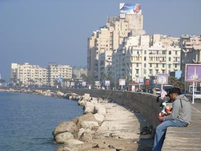 日韓共同エジプト旅行(8日~9日目 アレキサンドリアを見て帰国)