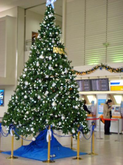 伊丹空港では