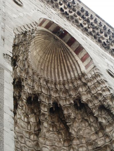 2007秋、ギリシャ・エジプト旅行記(27):12月4日(3)カイロ:スルタン・ハサン・モスク