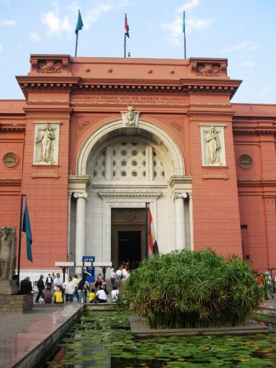 2007秋、ギリシャ・エジプト旅行記(28):12月4日(4)カイロ・エジプト考古学博物館