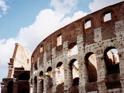 イタリア1・・遺跡だらけのローマ、アッシジでタイムスリップ