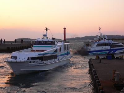 寒波の大荒れ日間賀島