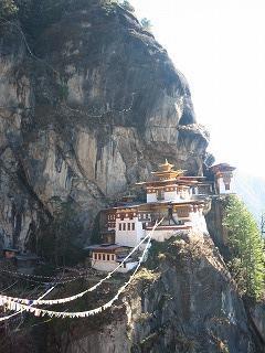 ★ネパール・ブータン・インド☆一人旅★③ブータン、パロとタクツァン僧院