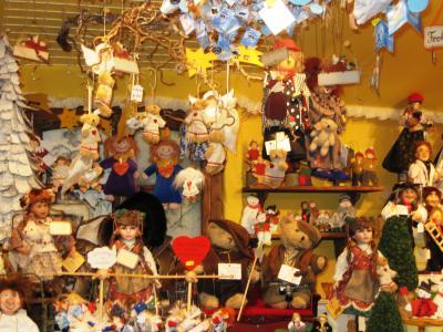 2007暮、ドイツ旅行記(18):12月16日(4)ミュンヘン・オリンピック公園、BMW本社ビル、クリスマスマーケット
