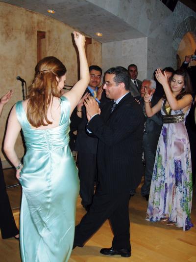 ドバイで友人の結婚式に出席?★結婚式前夜祭編