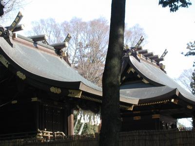 関東一鷲宮神社に初詣