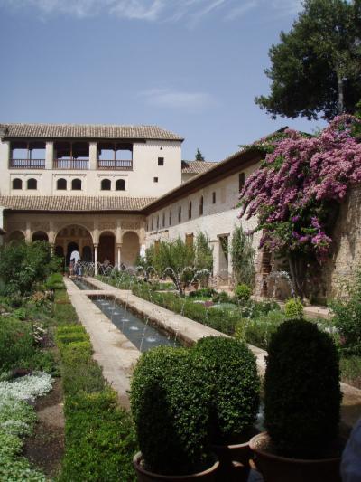 セビリア泊でアルハンブラ宮殿 グラナダ Granada 1