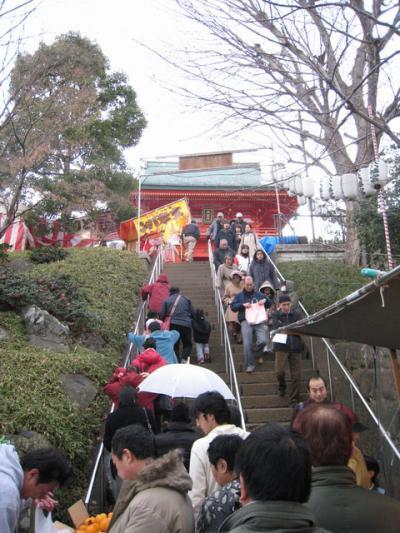 早稲田の穴八幡宮
