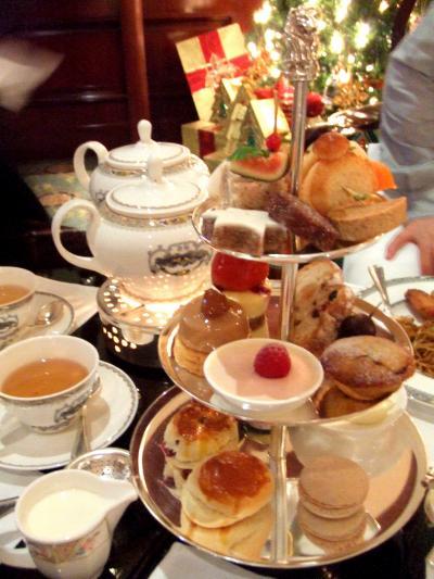2007★うまうま香港Vol.14~チャーターラウンジで最後の下午茶を。