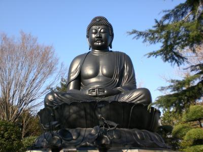 【ご近所名所】おお、これが東京大仏だよ!