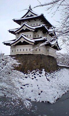 雪を見る旅 弘前