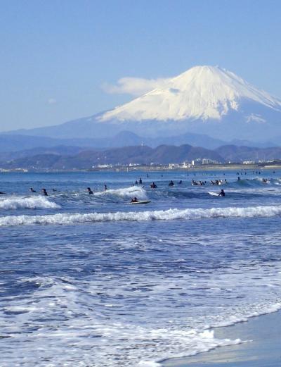 湘南海岸から江ノ島・鎌倉の新春