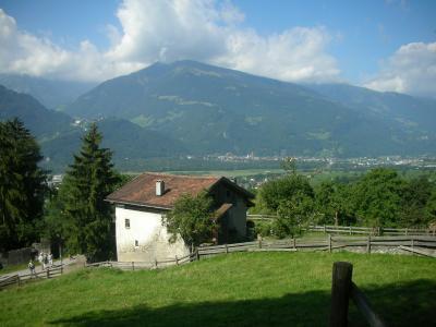 スイス10日間の旅 2日目午前中、ハイジの村、マイエンフェルト