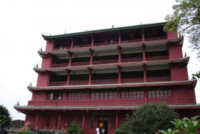 中国南部の旅 2007-2008(その1 広州)