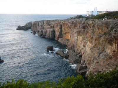 遠征ゴルフ&白浜観光:名勝三段壁
