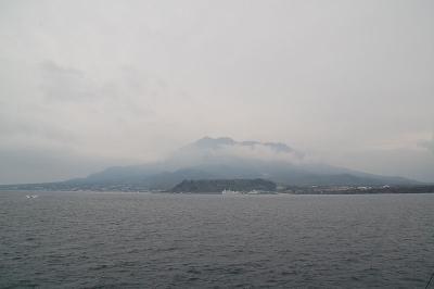 ちょいと桜島へ