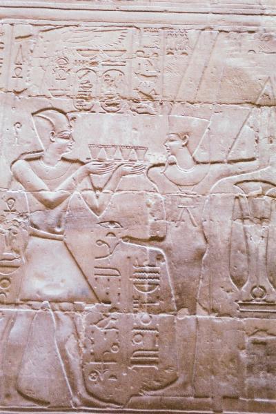 国中が博物館のエジプト