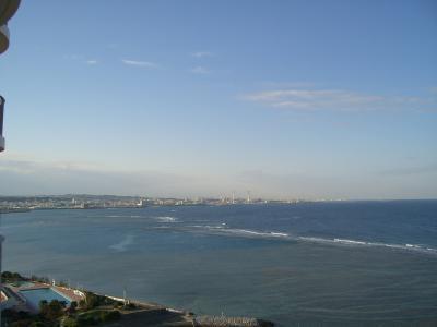 最終日のホテル・ザ・ビーチタワー沖縄