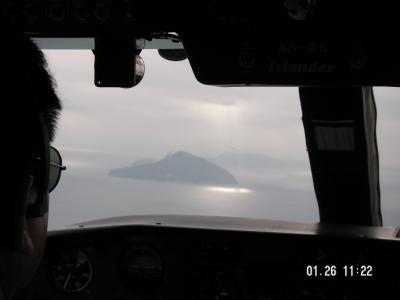 突然海が見たくて・・新島日帰りフライトの旅