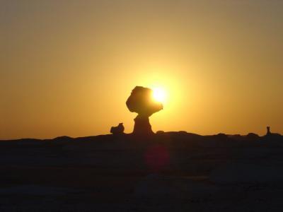 エジプト/カイロ/白砂漠