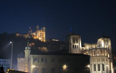 南仏&パリ(03) リヨンの教会 ~2007年 年越し~
