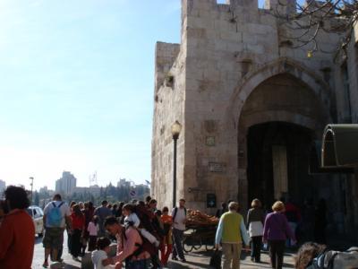 イスラエル突入記 エルサレム旧市街と城壁編