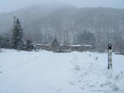 冬の土合駅