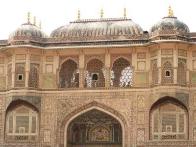 2008冬、インド旅行記(4):1月26日(2)ジャイプル、アンベール城