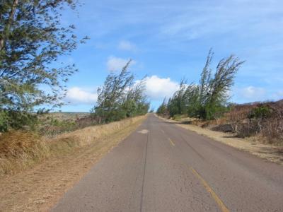 モロカイ島、風の通り道。(モロカイ通信-07)