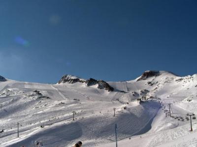 キッツシュタインホルンの氷河スキー