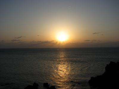 熊本県訪問記 「日本のエーゲ海」天草の夕日