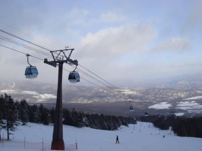 スキーin パルコール嬬恋