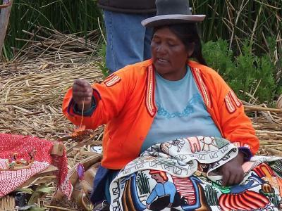 南米アンデス山脈ペルー国プーノ周辺のチチカカ湖特集 #6 チチカカ湖の島巡りウロス島 1