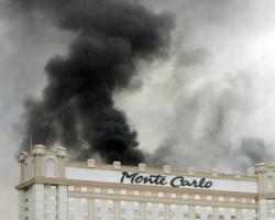 モンテカルロ・ホテルの火事より3週間/今週金曜より再オープン