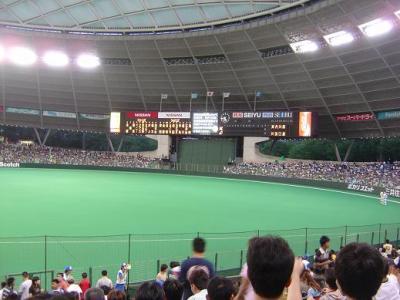 《プロ野球観戦》西武DOME最終戦2004
