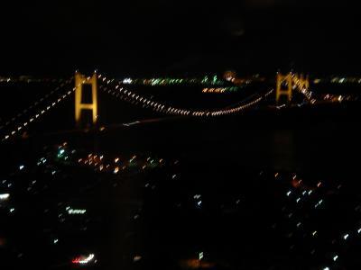 瀬戸大橋の夜景