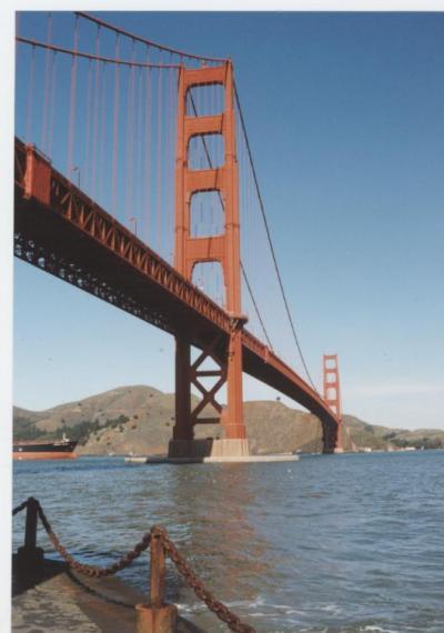サンフランシスコでサイクリング,2001年