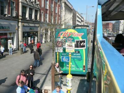 ダブリン観光~シティ・ツアーバスで市内観光
