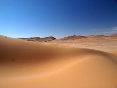 アルジェリアの砂漠1300キロの旅 4  ベニ・アベス    Beni Abbes, Algeria