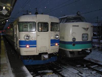 食パン電車に乗りに行こう(2008年冬・大糸線のキハ52)