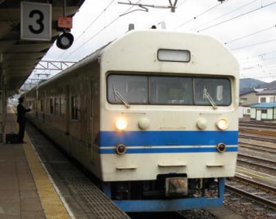 食パン電車に乗りに行こう(2008年冬・五箇山へ)