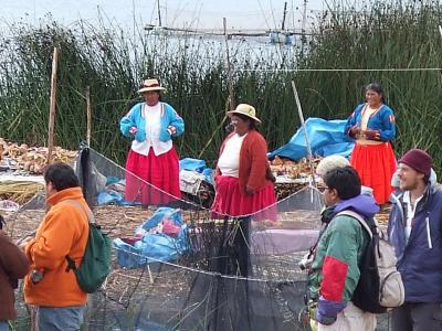 南米アンデス山脈ペルー国プーノのチチカカ湖特集 #10 チチカカ湖の島巡りウロス島 #5