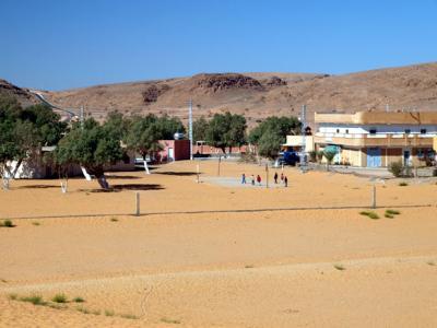 アルジェリアの砂漠1300キロの旅  7  タリットの砂漠     Taghit, Algeria