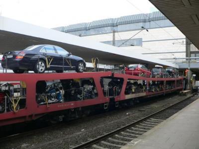 ドイツ鉄道・Autozug(自動車運搬付き夜行列車)