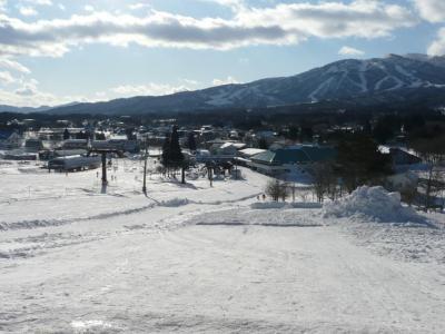 サンメンバーズひるがの初日 ひるがのスキー場