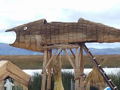 南米アンデス山脈にあるペルー国プーノのチチカカ湖特集 #11 チチカカ湖の島巡り ウロス島 #6
